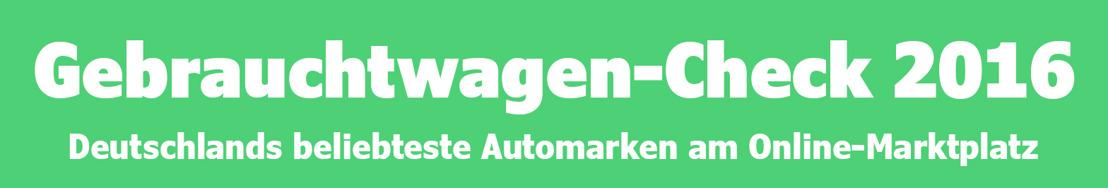 VW führt Gebrauchtwagen-Ranking an - aber nicht in allen Bundesländern