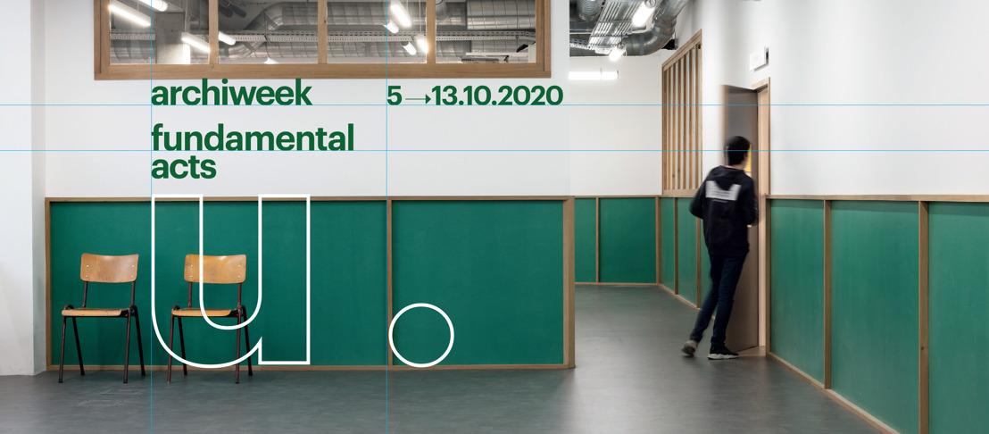 Archiweek 2020: fundamental acts