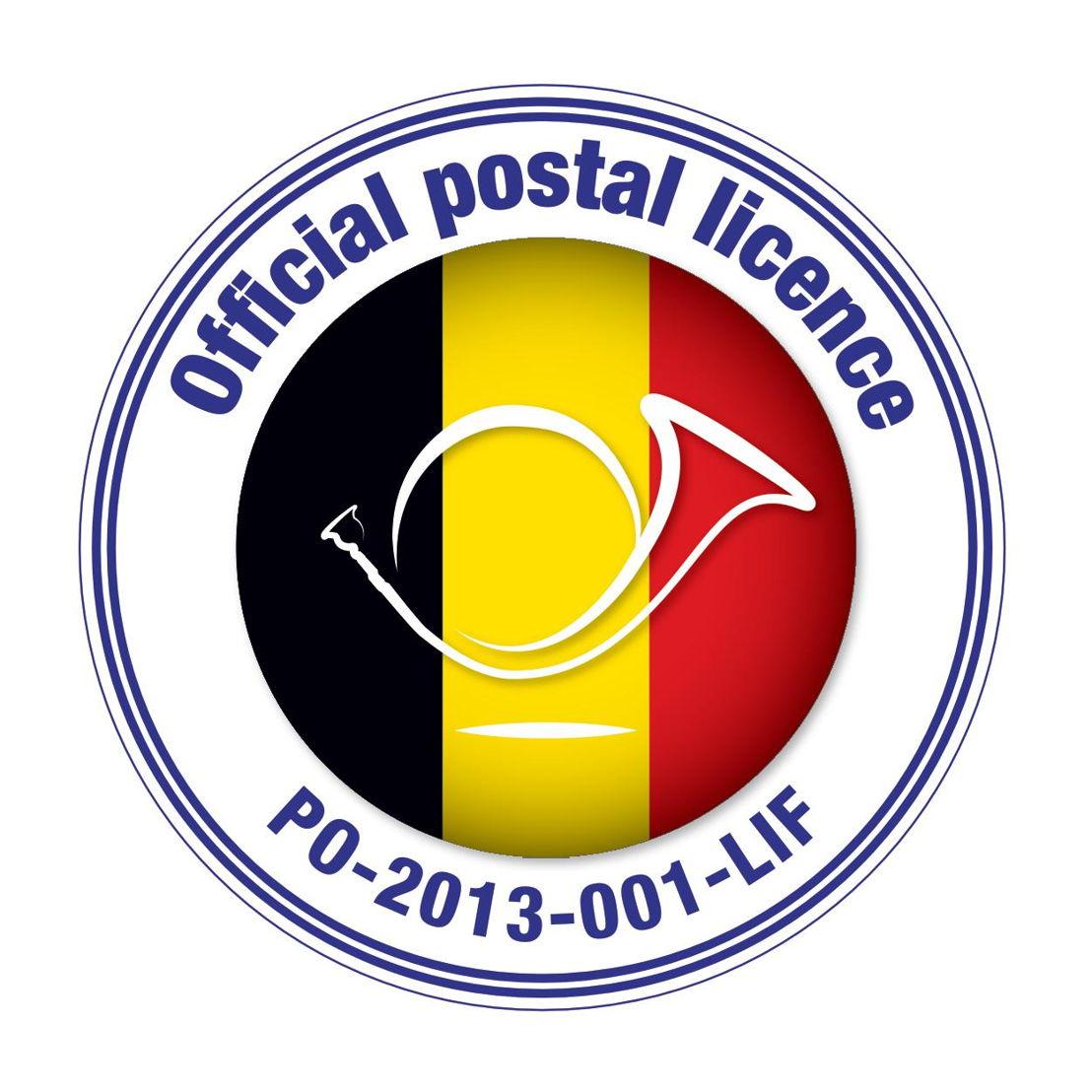 Individuele postvergunning sinds 22 mei 2013