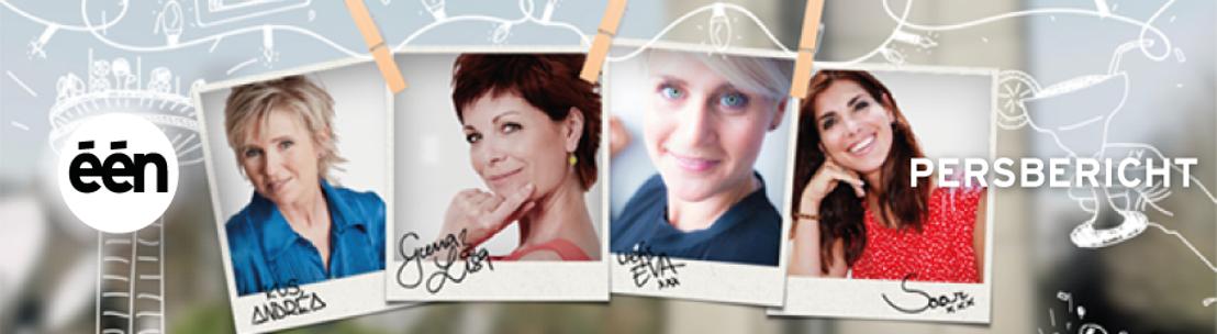 Andrea, Saartje, Eva en Geena Lisa zwaaien uit in schoonheid