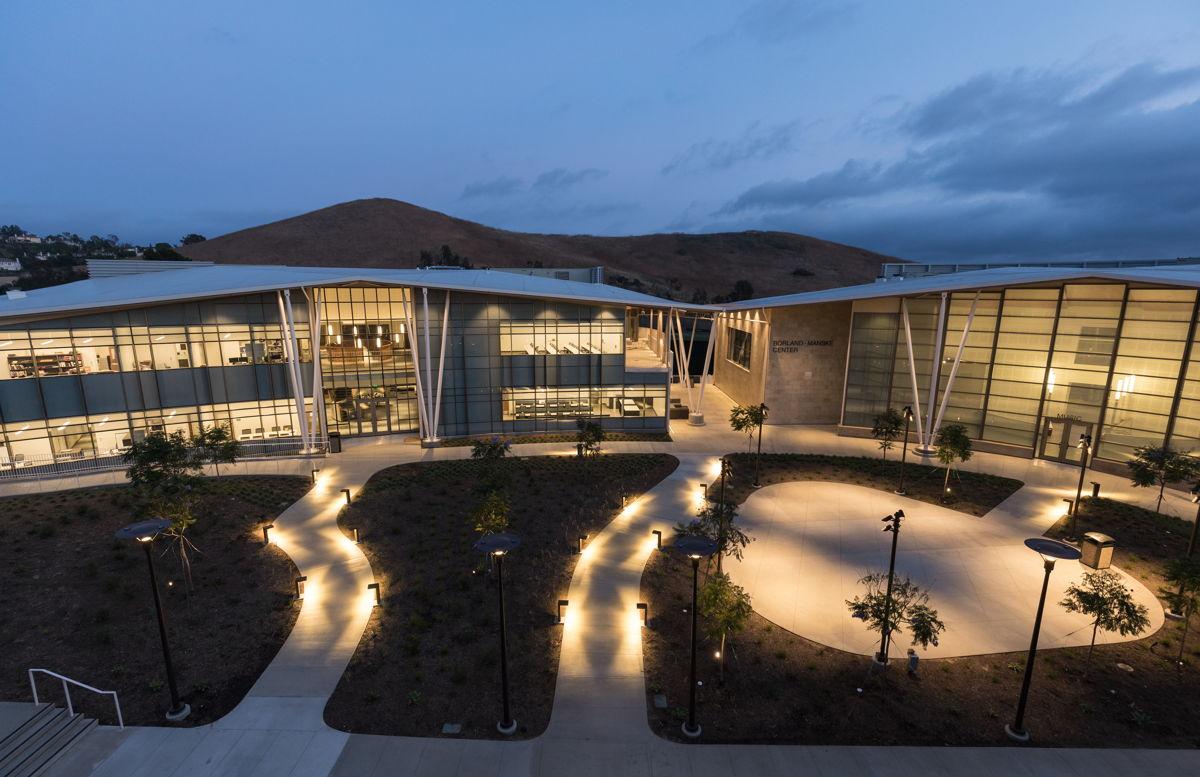 Exterior Borland-Manske Center