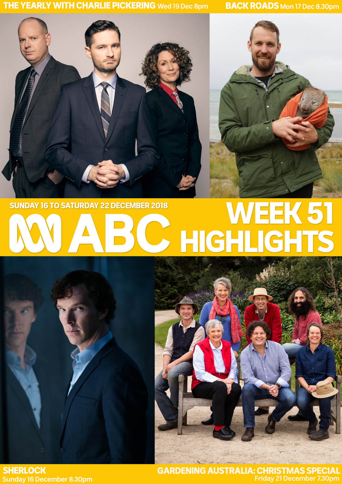 ABC TV Program Highlights - Week 51