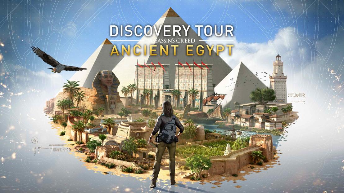TRANSPÓRTATE AL ANTIGUO EGIPTO CON EL DISCOVERY TOUR: ANCIENT EGYPT DE ASSASSIN'S CREED® ORIGINS
