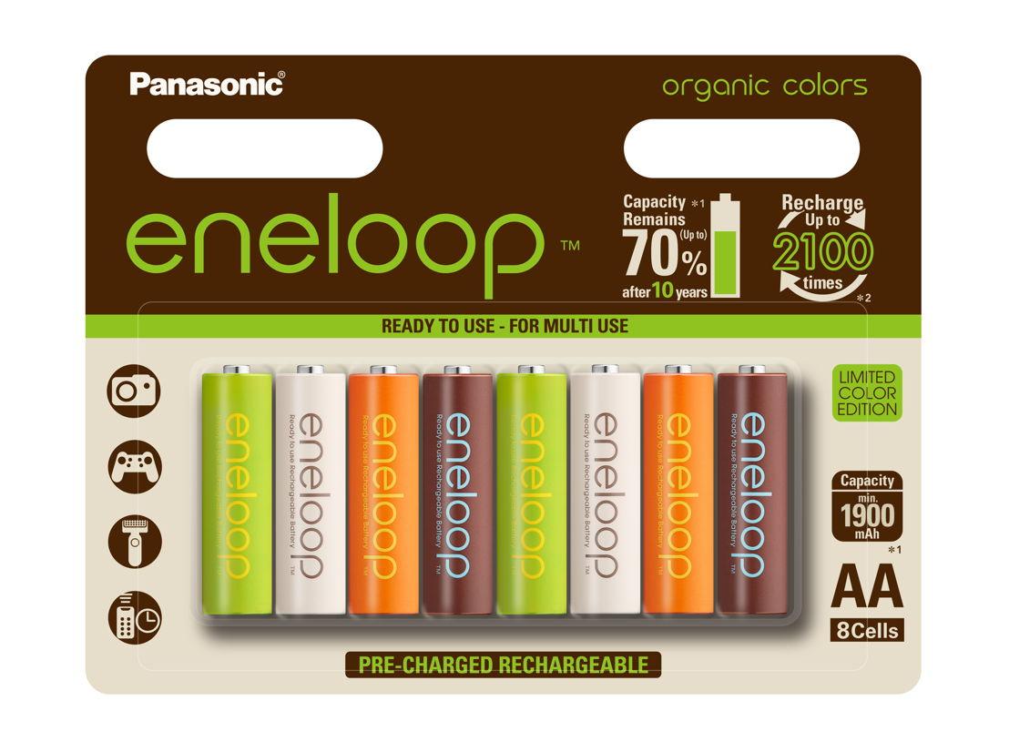 eneloop organic AA