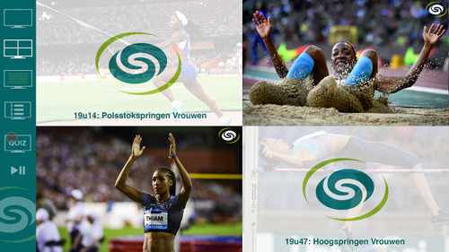 Sporza biedt interactieve primeur met Kiswe Mobile tijdens Diamond League Brussel
