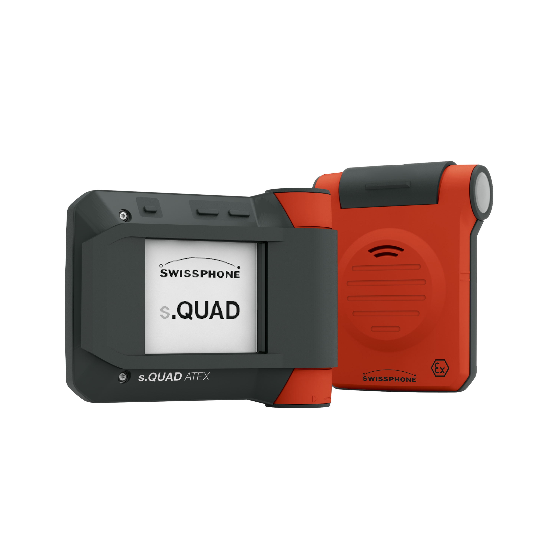 s.QUAD ATEX et s.QUAD Voice ATEX - Pager numériques et analogues pour zones en atmosphères explosives
