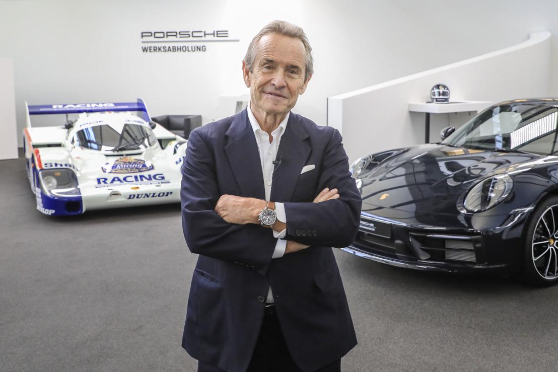 De eerste speciale editie van de nieuwe 911 (992): Porsche presenteert de Belgian Legend Edition