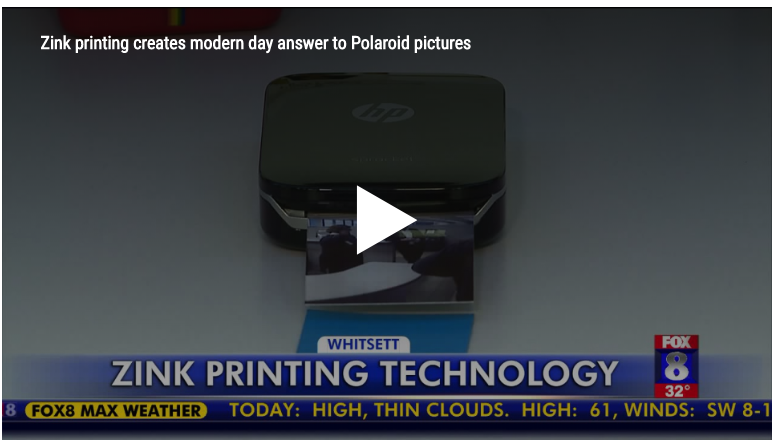 Zink printing creates modern day answer to Polaroid pictures