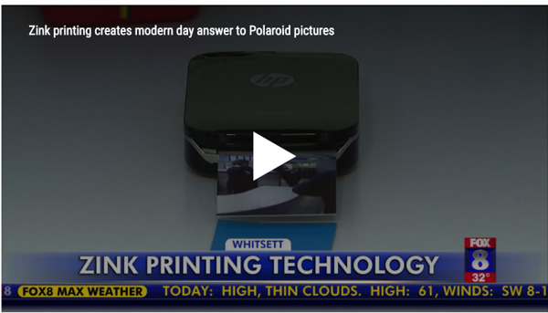 Preview: Zink printing creates modern day answer to Polaroid pictures