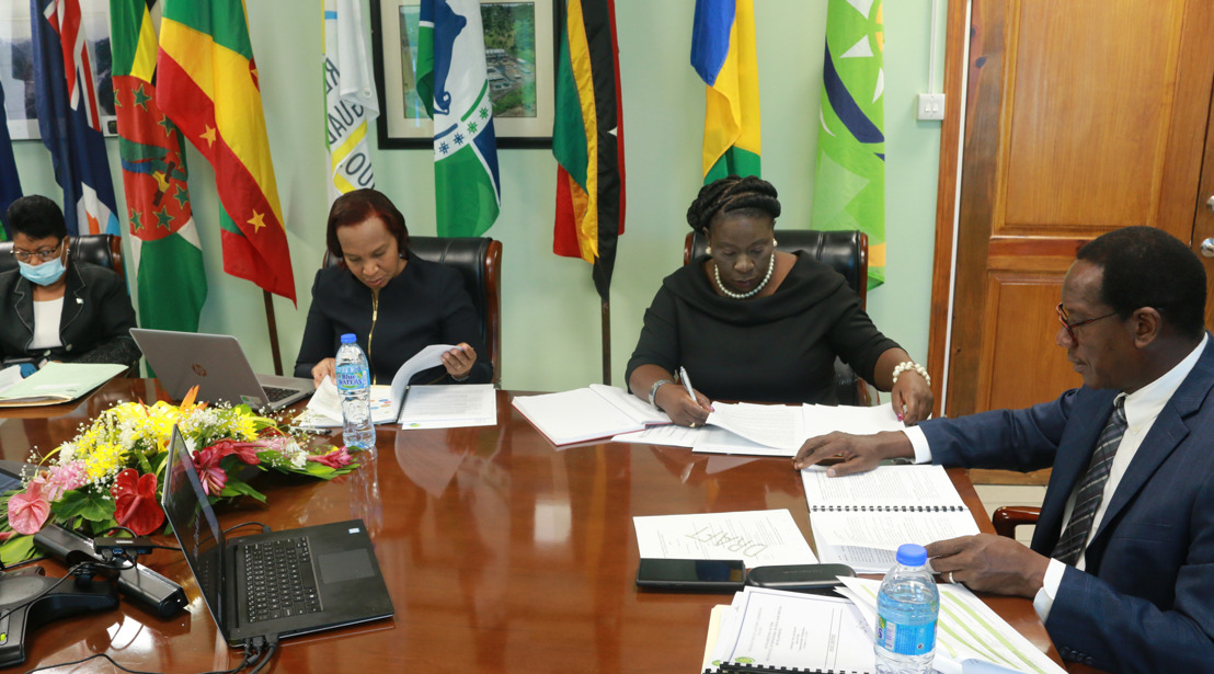 OECS Hosts 6th Council of Ministers of Human and Social Development Meeting Virtually