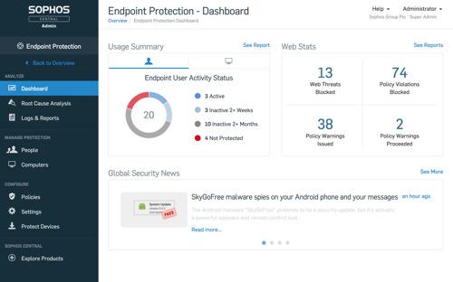 Nieuwste versie van Sophos' Intercept X: Predictive protection met geavanceerde deep learning