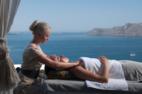 Canaves Oia Hotel in Santorini, Greece, Crowned as the Best Luxury Boutique Spa in Europe