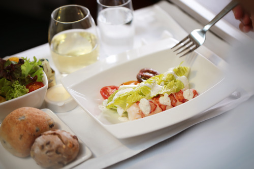 Cathay Pacific introduces fine Italian inflight dining through partnership with Michelin-starred Tosca Passengers flying on Hong Kong's home airline can look forward to a specially-designed menu from celebrated chef Pino Lavarra of The Ritz-Carlton, Hong Kong