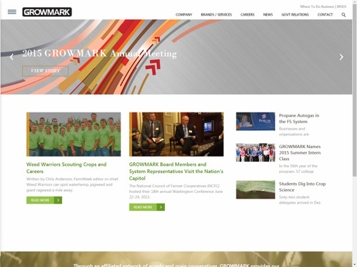 GROWMARK Unveils New Company Website