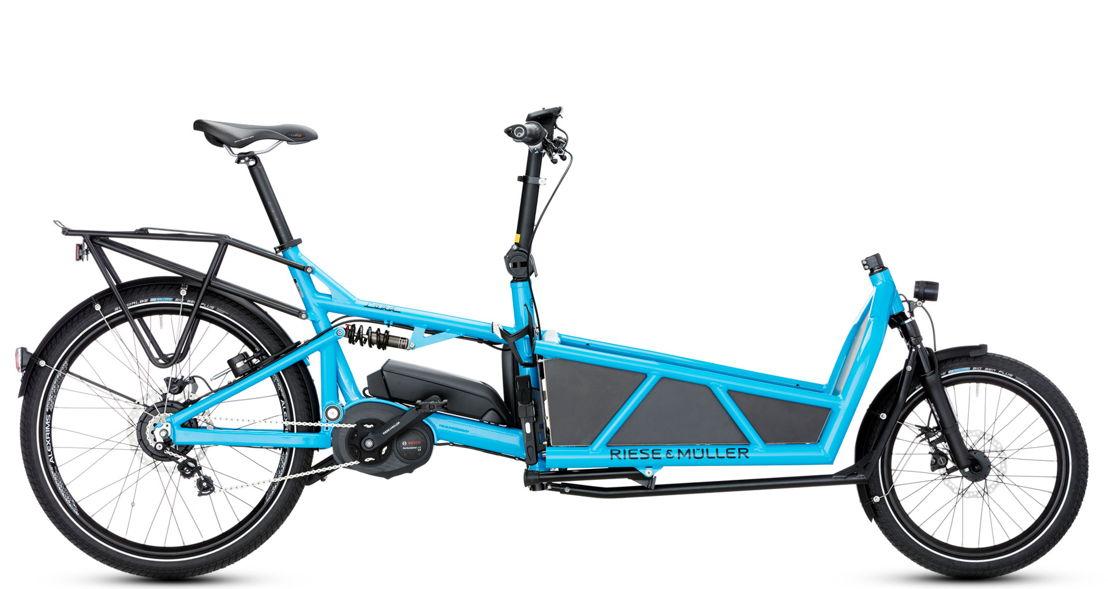 Full-size e-cargo bike