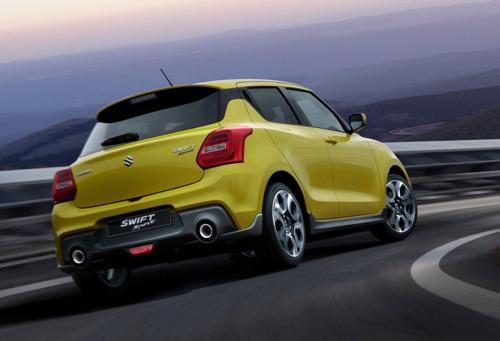 De nieuwe Suzuki Swift Sport: lichter en sneller