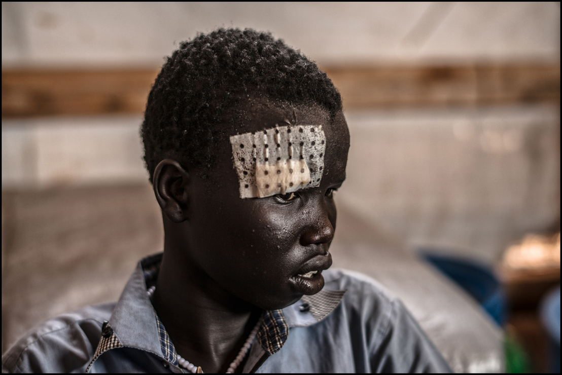 Dans la clinique MSF de Mellut. (c) Matthias Steinback/MSF