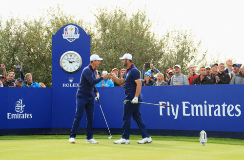Opening day action of The 2018 Ryder Cup