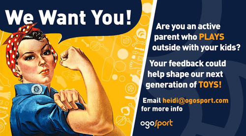 OgoSport Seeks Feedback from Active Parents
