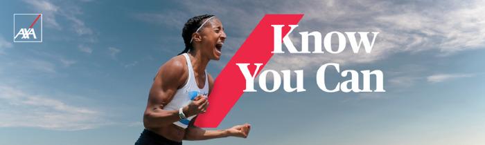 Preview: AXA's merkbelofte 'Know You Can' krijgt een bekend gezicht