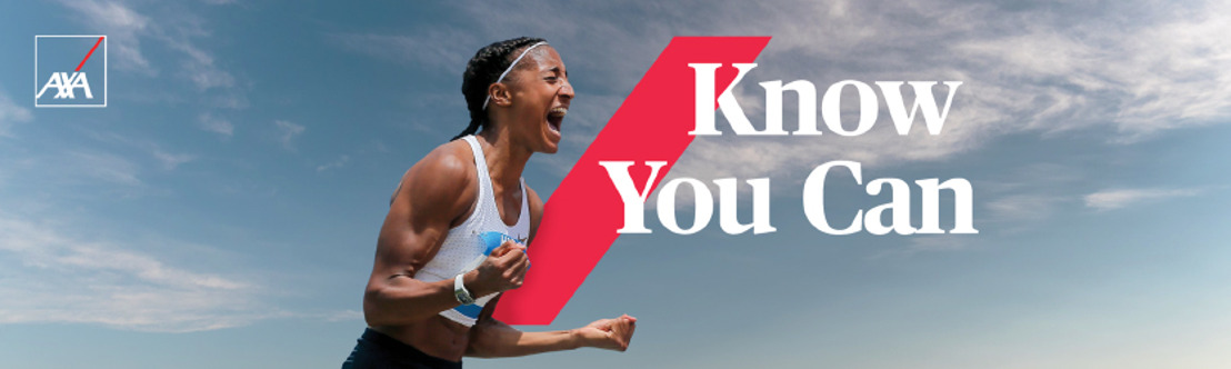 La signature 'Know You Can' d'AXA prend un visage familier