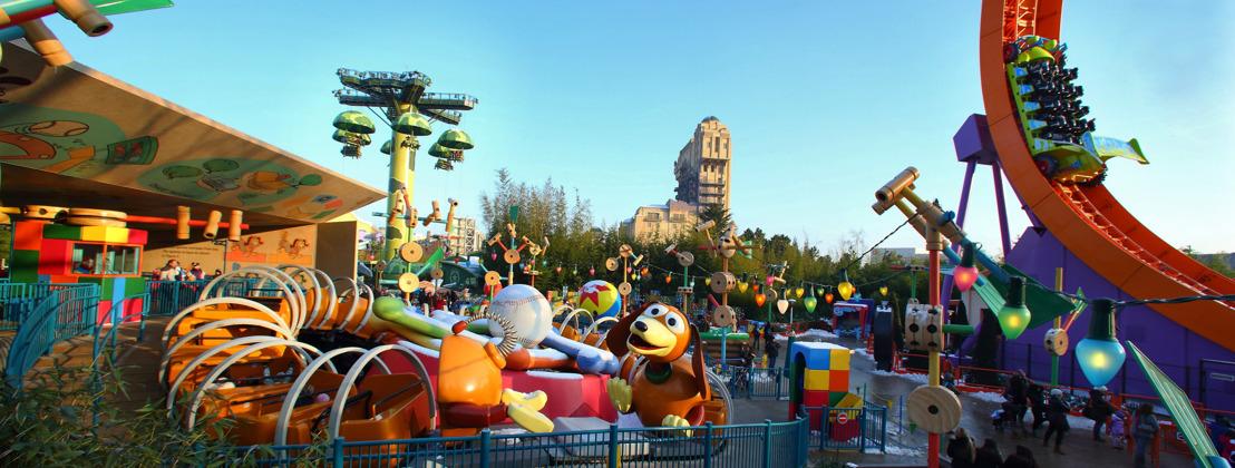 "Disneyland Paris kondigt de 11-daagse ""Toy Story Play Days"" aan naar aanleiding van de nieuwe Toy Story 4"