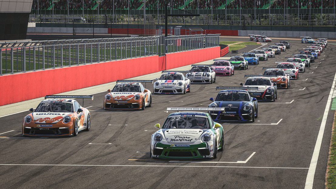 Porsche Mobil 1 Supercup Virtual Edition, Races 3 + 4, Silverstone/Great Britain
