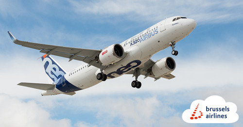 Three Airbus A320neo to join the Brussels Airlines fleet in 2023
