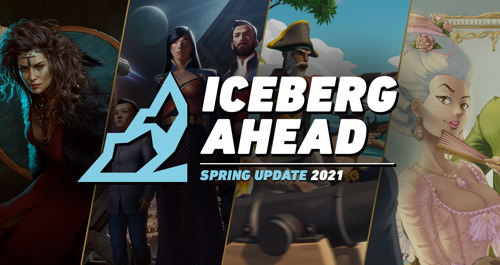 TACTICAL HACKING RPG AND MORE ANNOUNCED ON ICEBERG AHEAD 2021