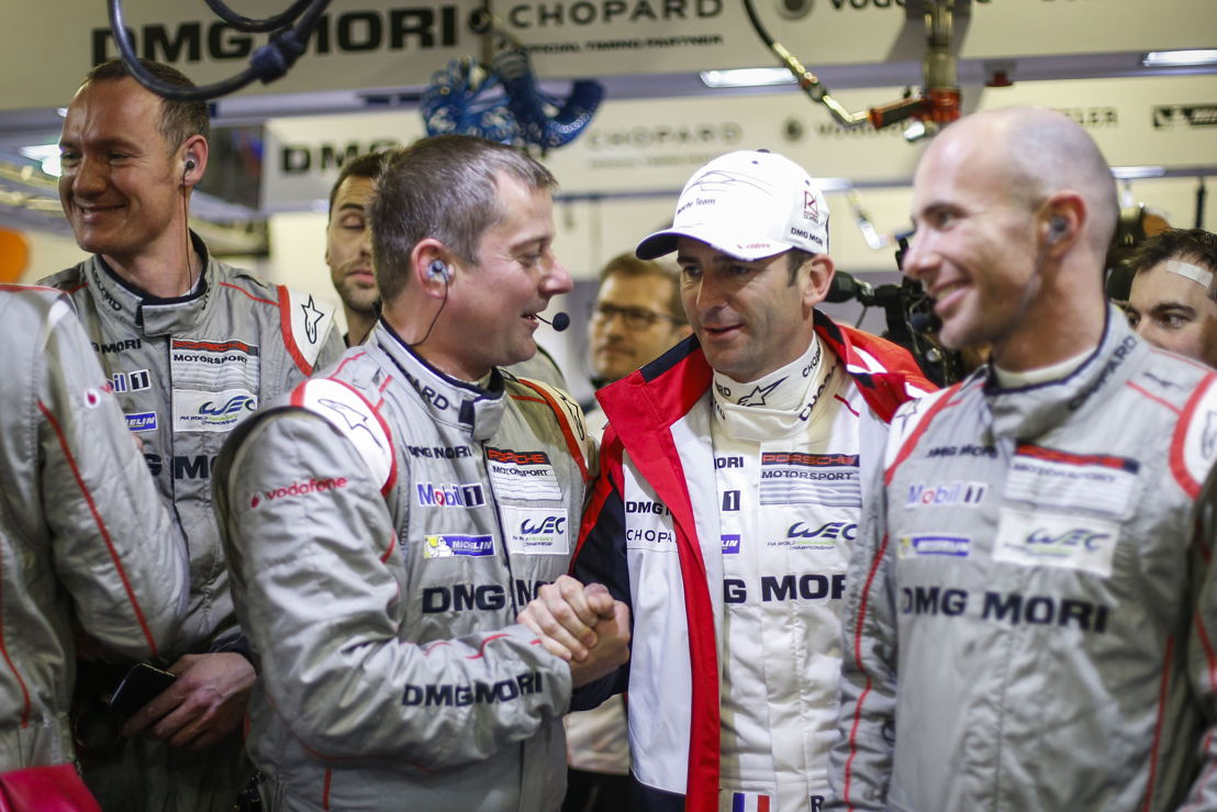 Le Mans (F) 2016: Porsche Team: Romain Dumas