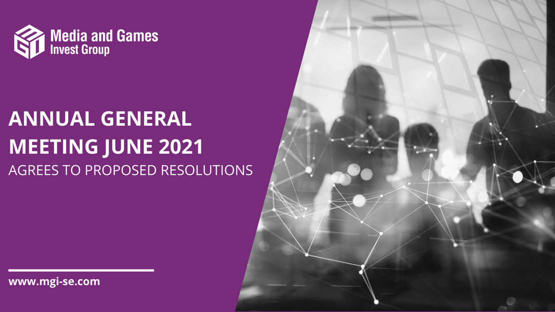 Media and Games Invest SE: Annual General Meeting resolved all proposed agenda items