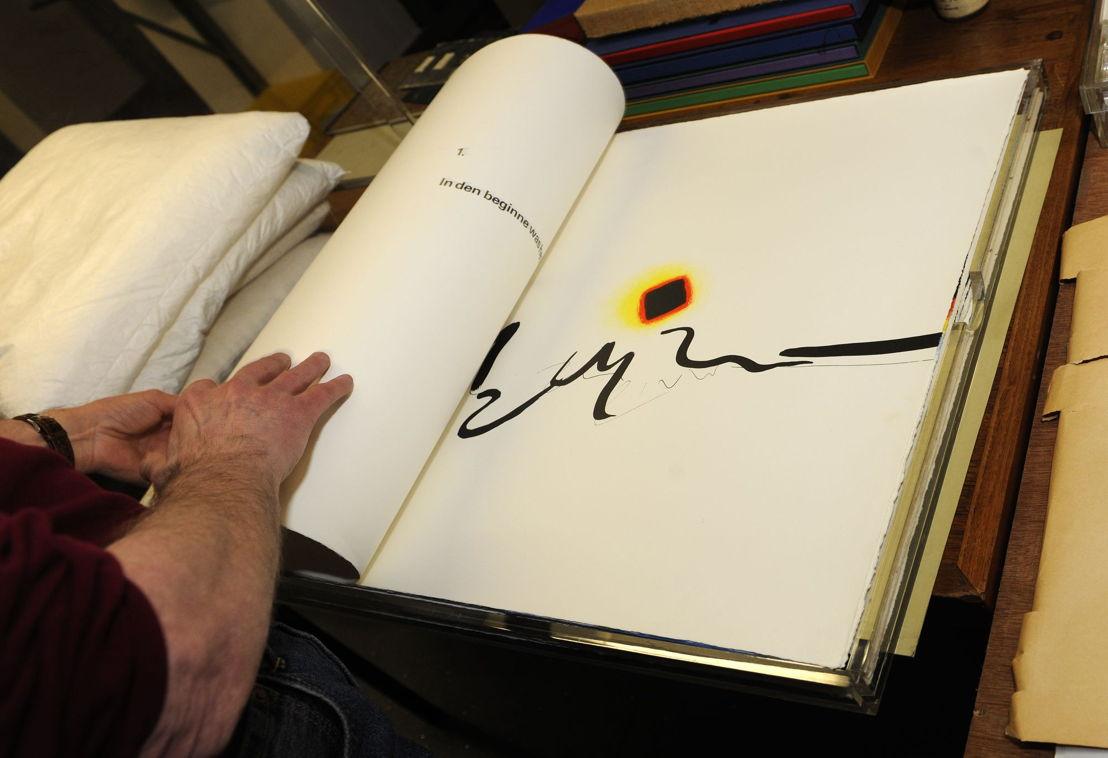 Exposition « Never judge a book by its cover. 50 livres d&#039;exception, 1966-2016 »<br/>© Bibliothèque royale de Belgique