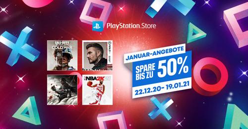 Januar-Angebote ab sofort im PlayStation Store gestartet