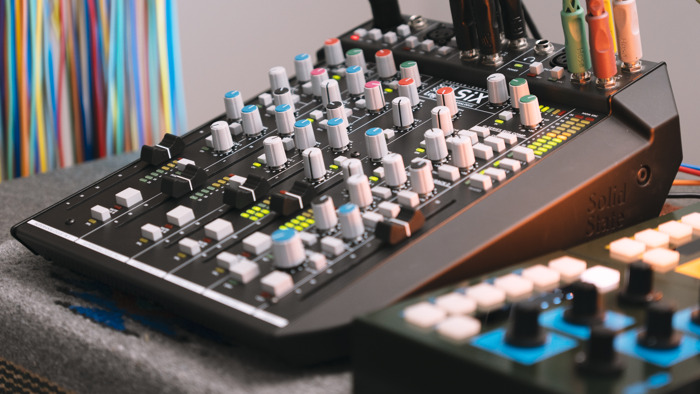 Lightbath's Modular Creations: Crafting a Shared Sound Experience with Eurorack and Solid State Logic SiX Desktop Mixer