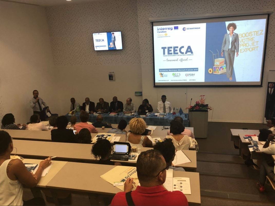 Launch of the TEECA Project at the Consular Training Center in Schoelcher Martinique.  © Collectivity of Martinique