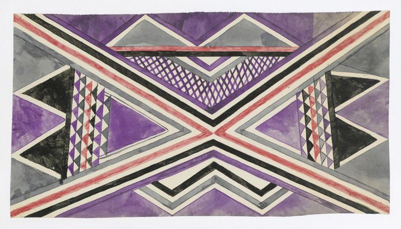 Tshela Tendu, Zonder titel, ca. 1930, SV 72815, Prentenkabinet, Koninklijke Bibliotheek van België