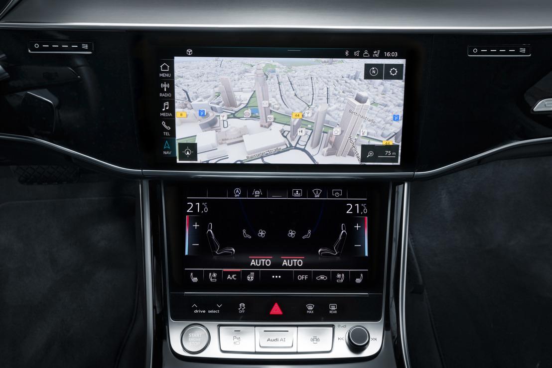 Système de navigation au top niveau : Audi et HERE travaillent main dans la main