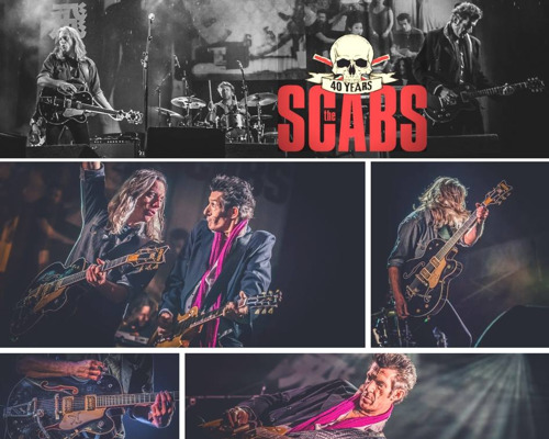 The Scabs krijgen Lifetime Achievement Award op de MIA's