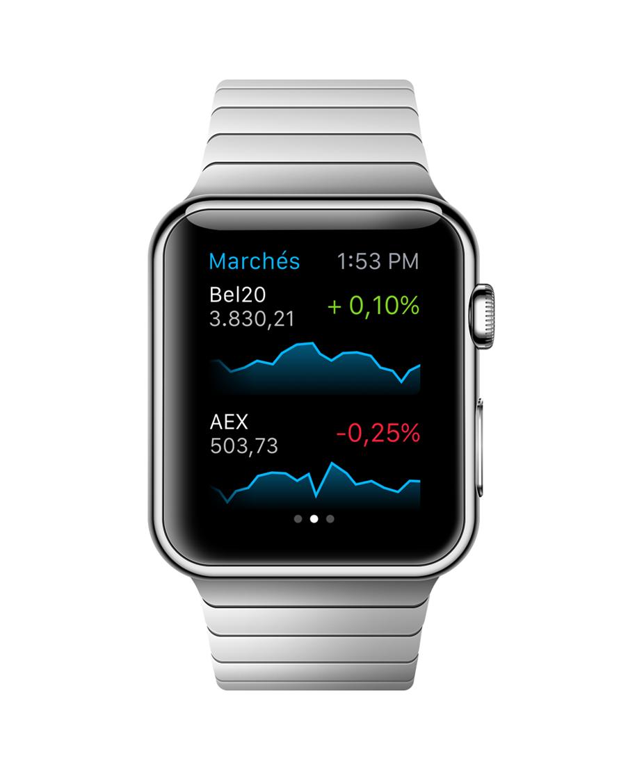 Bolero Apple Watch Marchés