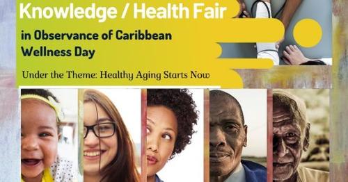 [MEDIA ALERT] OECS Health and Knowledge Fair in Observance of Caribbean Wellness Day