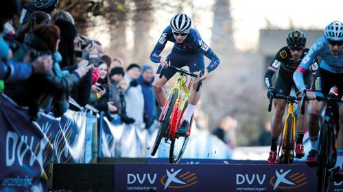 VUB decor van Brusselse cyclocross en Belgische topsport