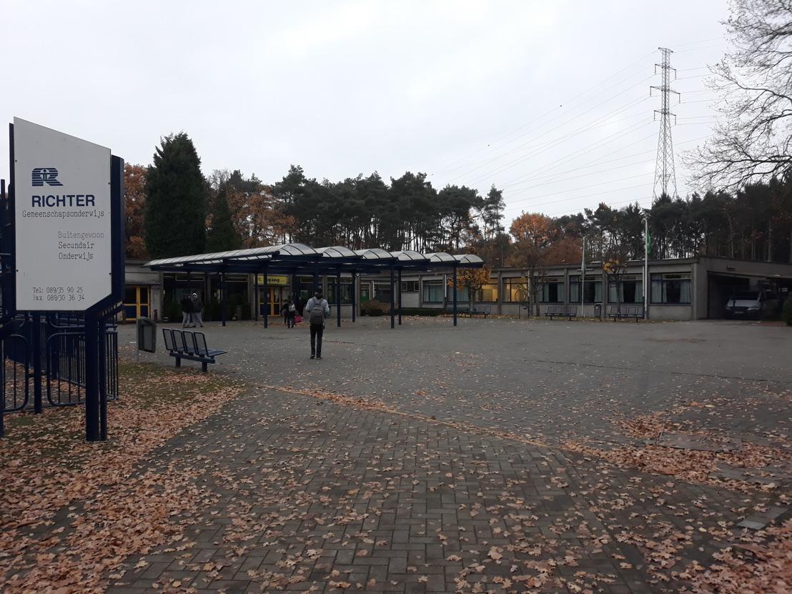 BuSO De Richter en IKEA Hasselt huldigen nieuwe klaslokalen in