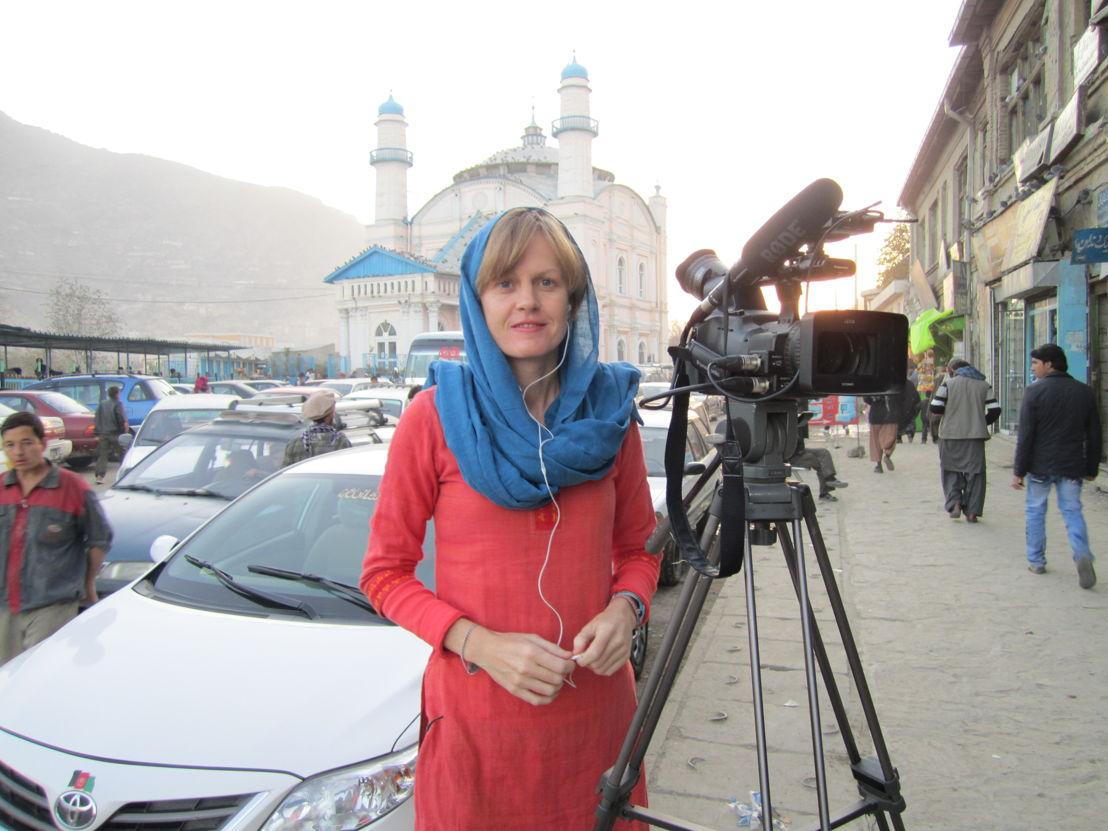 Sally Sara in Kabul