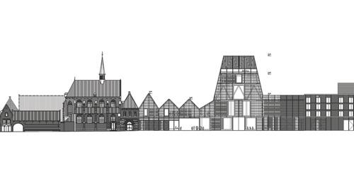 Londens topbureau Sergison Bates architects ontwerpt een nieuw cultureel icoon in het hart van Leuven