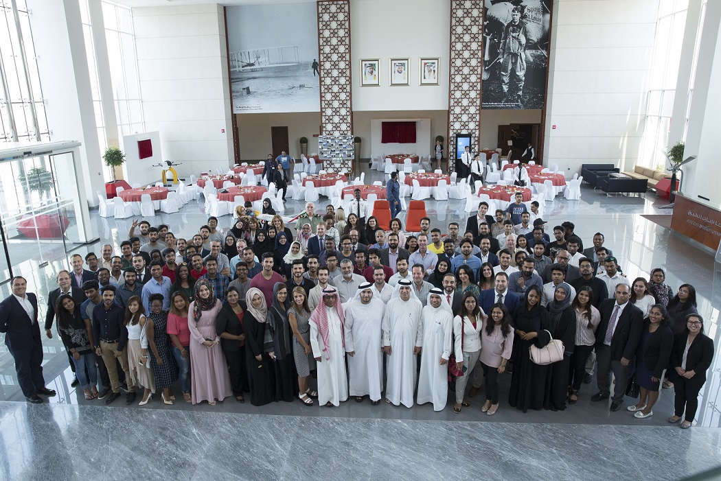 Emirates Aviation University recently held an Alumni Reunion at the university's new campus in Dubai Academic City.