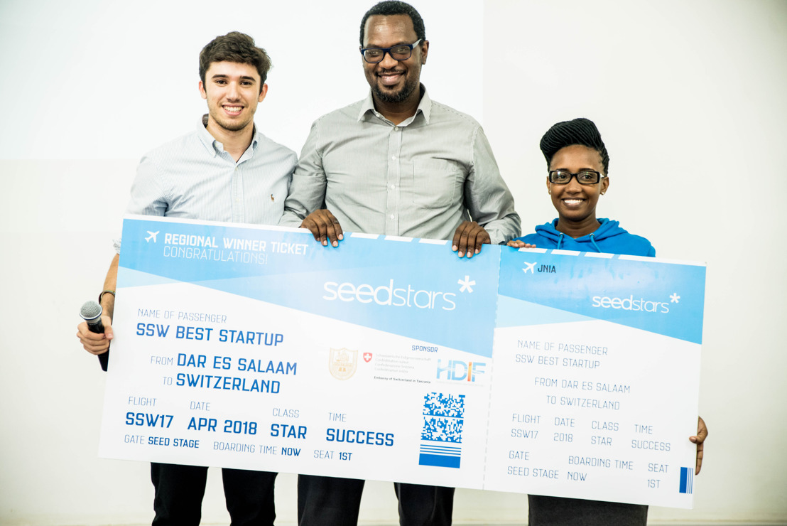 Nefrids Africa selected as the winner of Seedstars Dar Es Salaam 2017