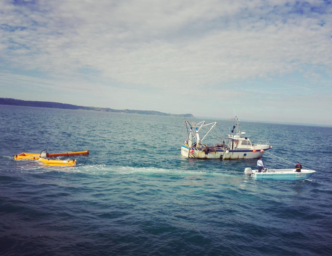 WFO Live Demonstration of marine litter collection in Erquy (France)