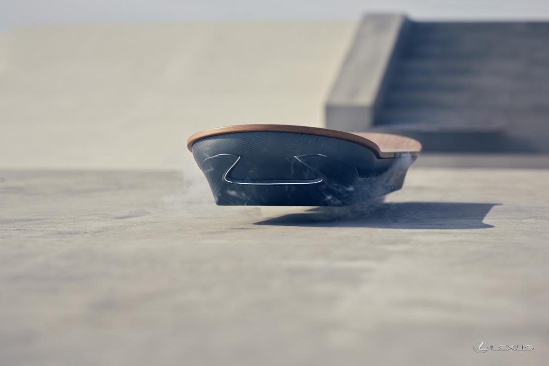 Lexus crée l'hoverboard du futur