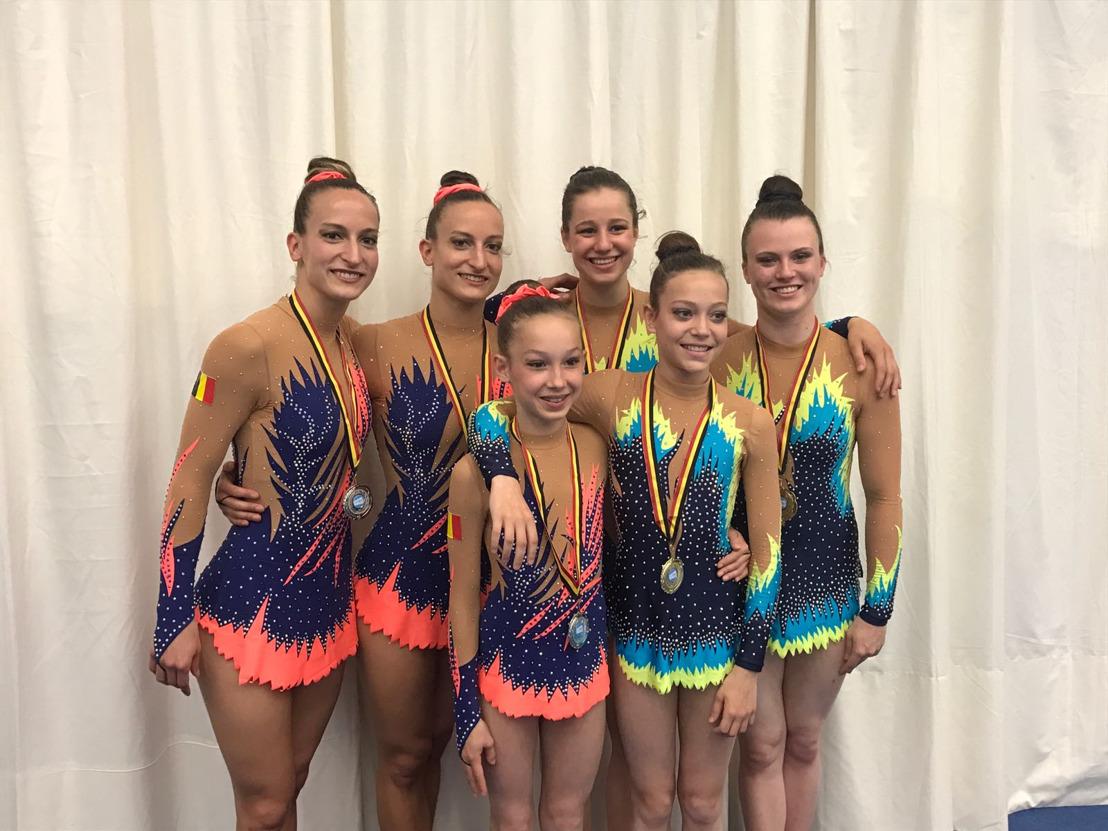 Turnclub Athena schittert op Belgisch kampioenschap Acro Gym in jubileumjaar!