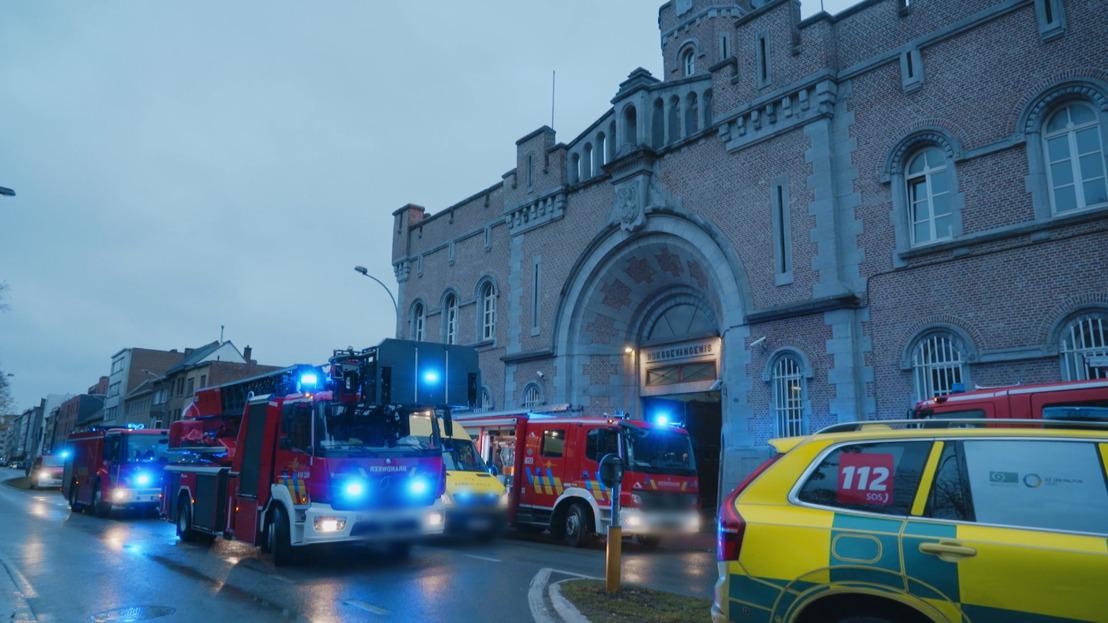 Gedetineerde steekt eigen cel in brand in Gent